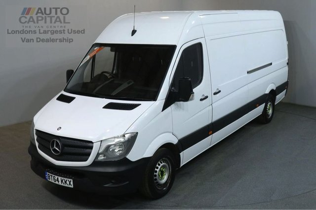 2014 64 MERCEDES-BENZ SPRINTER 2.1 313 CDI LWB 129 BHP H/ROOF PANEL VAN ONE OWNER SPARE KEY