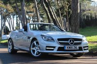 USED 2015 15 MERCEDES-BENZ SLK 3.5 SLK350 BLUEEFFICIENCY AMG SPORT 2d AUTO 306 BHP