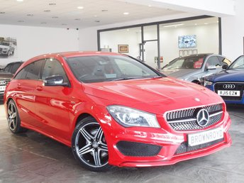 2016 MERCEDES-BENZ CLA 2.0 CLA250 4MATIC ENGINEERED BY AMG 5d AUTO 208 BHP £18990.00