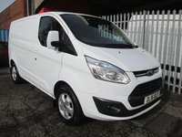 USED 2016 16 FORD TRANSIT CUSTOM 270 LIMITED SWB L1 H1 2.2 TDCi 125 *AIR CON*BLUETOOTH* *EXCELLENT SPECIFICATION*ONLY 47000 MILES*