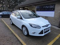 USED 2014 14 FORD FOCUS 1.6 ZETEC TDCI 5d 113 BHP * FULL SERVICE HISTORY WITH 6 STAMPS * 2 KEYS * 2 KEEPERS * DAB RADIO *