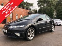 USED 2010 10 HONDA CIVIC 1.3 I-VTEC SI 5d 98 BHP 1 Owner, Full Service History, having been serviced in February 2011, August 2011, July 2012, March 2013, March 2014, March 2015, February 2016, February 2017, February 2018 and March 2019. this is a stunning Honda Civic 5 door SI with an MOT until February 2020 and comes with a Free RAC Warranty. In addition the car comes with Half Leather, Air Conditioning, Leather Multi Functional Steering Wheels, Electrically Operated Windows, Electrically Operated and Heated Wing Mirrors, and Alloy Wheels