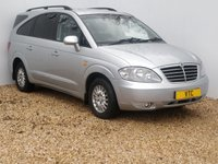 USED 2011 11 SSANGYONG RODIUS 2.7 270 EX 5d AUTO 163 BHP