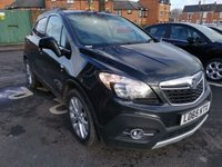 USED 2016 65 VAUXHALL MOKKA 1.4 SE 5d AUTO 138 BHP AUTOMATIC WITH ONLY 9118 MILES FROM NEW , EXCELLENT FUEL ECONOMY AND EXCELLENT SPECIFICATION INCLUDING HE ALLOY WHEELS,  CLIMATE CONTROL, PARKING SENSORS, LEATHER TRIM.