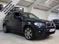 USED 2012 12 BMW X5 3.0 XDRIVE30D M SPORT 5d 241 BHP