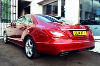 USED 2014 14 MERCEDES-BENZ CLS CLASS 2.1 CLS250 CDI BLUEEFFICIENCY 4d AUTO 204 BHP VERY LOW MILEAGE CLS WITH FULL LEATHER + SAT NAV
