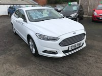 USED 2016 16 FORD MONDEO 2.0 ZETEC ECONETIC TDCI 5d 148 BHP 1 OWNER-SAT NAV-BLUETOOTH-DAB-MAIN DEALER HISTORY-ALLOY WHEELS-£20 ROAD TAX