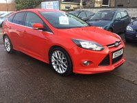 USED 2013 13 FORD FOCUS 1.0 ZETEC S S/S 5d 124 BHP FULL APPEARANCE PACK BODYKIT WITH BOOT SPOILER,PRIVACY GLASS,FRONT SPLITTER,ETC