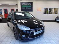 USED 2013 63 CITROEN DS3 1.6 E-HDI AIRDREAM DSPORT PLUS 3d 111 BHP BLUETOOTH + CRUISE CONTROL + ELECTRIC WINDOWS + CD RADIO + REMOTE CENTRAL LOCKING + AIR CONDITIONING +