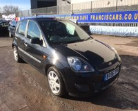 2006 FORD FIESTA STYLE CLIMATE 16V £2499.00