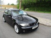 2008 BMW 1 SERIES 2.0 118D M SPORT 5d 141 BHP £4695.00