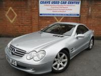 USED 2005 05 MERCEDES-BENZ SL 3.7 SL350 2dr
