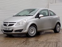 USED 2010 10 VAUXHALL CORSA 1.4 EXCLUSIV A/C 3d 98 BHP