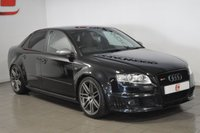 USED 2007 56 AUDI RS4 SALOON 4.2 QUATTRO 4d 420 BHP LOW MILES + FULL HISTORY + NAV + BLACK LEATHER RECARO