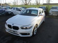 USED 2017 17 BMW 1 SERIES 1.5 118I SE 5d 134 BHP WAS £13,995 NOW ONLY £13,495 !!