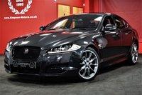 USED 2015 15 JAGUAR XF 2.2 D R-SPORT BLACK 4d AUTO 200 BHP