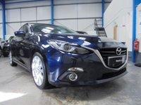 2015 MAZDA 3 2.0 SPORT NAV 5d 118 BHP £9995.00