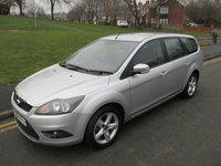 USED 2009 59 FORD FOCUS 1.6 ZETEC 5d 100 BHP 85,000 GUARANTEED MILES - 2 OWNERS FROM NEW