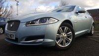 2012 JAGUAR XF 3.0 V6 LUXURY 4d AUTO 240BHP £9790.00