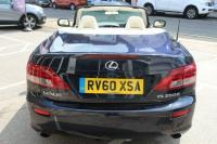 USED 2010 60 LEXUS IS 2.5 SE-L 2dr LUXURY CONVERTIBLE 6 SERVICES
