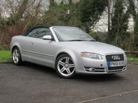 USED 2006 56 AUDI A4 2.0 TDI SPORT 2d convertible **DIESEL CONVERTIBLE**ELECTRIC HOOD**