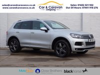 USED 2010 60 VOLKSWAGEN TOUAREG 3.0 V6 ALTITUDE TDI BLUEMOTION TECHNOLOGY 5d 237 BHP Full VW History NAV Leather Buy Now, Pay Later Finance!