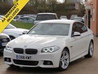 2016 BMW 5 SERIES 3.0 535D M SPORT 4d AUTO 309 BHP £18490.00
