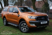 USED 2016 16 FORD RANGER WILDTRAK 3.2 TDCI AUTO DOUBLE CAB PICK UP [200 BHP]