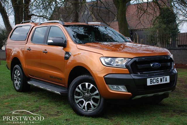 2016 16 FORD RANGER WILDTRAK 3.2 TDCI AUTO DOUBLE CAB PICK UP [200 BHP]