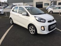 2016 KIA PICANTO 1.0 1 5d 65 BHP low road tax  £6250.00