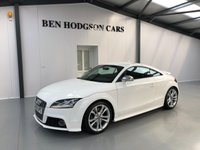 USED 2008 58 AUDI TT 2.0 TTS TFSI QUATTRO 3d 272 BHP 2 Owners! Red Leather! FSH!