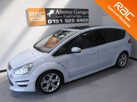 USED 2012 12 FORD S-MAX 2.0 TITANIUM X SPORT TDCI 5d 161 BHP THIS CAR IS THE BEST PEOPLE CARRIER ON THE MARKET WITH ITS SPORTY LOOKS AND HIGH SPEC, YOU GET IT ALL , 200 BHP ENGINE,  COMES IN THE BEST COLOUR METALLIC SILVER  WITH FACTORY TINTED WINDOWS, FULL FORD DEALER  SERVICE HISTORY 5 STAMPS. FULL GLASS, PANORAMIC ROOF, CRUSE CONTROL, HEATED HALF LEATHER SEATS WITH RED STITCHING FOR THAT SPORTY LOOK, PARKING SENSORS, UPGRADED ALLOYS, MOBIL NAV, BLUE TOOTH PHONE PREP  JUST SERVICED, THIS CAR HAS BEEN VERY WELL LOOKED AFTER AND MAINTAINED WITH NO EXPENSE