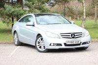 2010 MERCEDES-BENZ E CLASS 2.1 E250 CDI BLUEEFFICIENCY SE 2d AUTO 204 BHP £9480.00