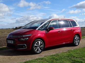 2018 CITROEN C4 GRAND PICASSO 1.6 BLUEHDI FEEL S/S 5d 118 BHP £14995.00