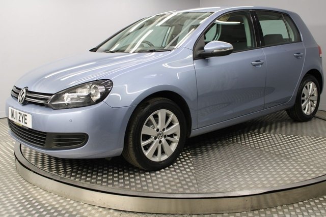 USED 2011 11 VOLKSWAGEN GOLF 1.6 MATCH TDI 5d 103 BHP