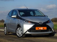 USED 2015 15 TOYOTA AYGO 1.0 VVT-I X-PLAY 5d 69 BHP 2 OWNERS PSH HPI CLEAR VGC