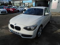 USED 2013 62 BMW 1 SERIES 2.0 116D SPORT 5d 114 BHP