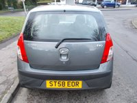 USED 2008 58 HYUNDAI I10 1.1 COMFORT 5d 65 BHP ++LOW MILEAGE CAR COMES WITH A FREE 6 MONTHS BREAKDOWN COVER++