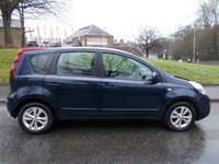 2010 NISSAN NOTE 1.4 ACENTA 5d 88 BHP £3495.00