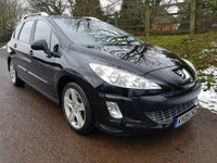 USED 2009 09 PEUGEOT 308 1.6 SW SPORT HDI 5d 110 BHP **2 OWNERS**GREAT CONDITION**FULL HISTORY**