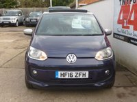 USED 2016 16 VOLKSWAGEN UP 1.0 CLUB UP 3d 74 BHP ONLY 16000 MILES ONE PRIVATE OWNER