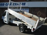 USED 2013 63 RENAULT MASTER 2.3 dCi CCLL35 Chassis Cab (FWD) 2dr (LWB) TIPPER TRUCK