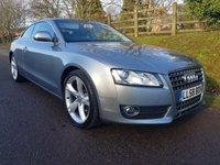 2009 AUDI A5 2.0 TFSI SPORT 3d 178 BHP £5495.00