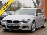 2015 BMW 3 SERIES 3.0 330D M SPORT 4d 255 BHP £16700.00