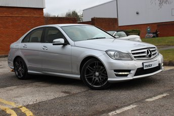 2013 MERCEDES-BENZ C CLASS 3.0 C350 CDI BLUEEFFICIENCY AMG SPORT PLUS 4d AUTO 262 BHP £14250.00