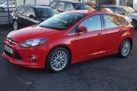 USED 2012 12 FORD FOCUS 1.6 ZETEC S TDCI 5d 113 BHP