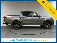 USED 2017 17 FIAT FULLBACK 2.4 LX DCB 1d AUTO 180 BHP SERVICE HISTORY - ONE OWNER - SAT NAV - FULL LEATHER - AIR CON - REAR CAMERA - BLUETOOTH - DAB