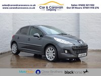 USED 2012 12 PEUGEOT 207 1.6 ALLURE 5d 120 BHP Full Peugeot History Bluetooth Buy Now, Pay Later Finance!