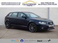 USED 2009 59 AUDI A3 2.0 TDI QUATTRO S LINE 5d 168 BHP One Owner Full Service History Buy Now, Pay Later Finance!