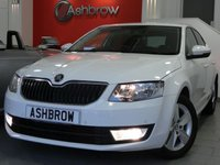 USED 2015 65 SKODA OCTAVIA 1.6 TDI SE BUSINESS 5d 110 S/S OWNER FROM NEW, FULL SERVICE HISTORY, £0 ROAD TAX (99 G/KM), UPGRADE SUNSET GLASS, SAT NAV, DAB RADIO, BLUETOOTH PHONE & AUDIO STREAMING, PARK ASSIST WITH AUTOMATIC STEERING, FRONT & REAR PARKING SENSORS WITH DISPLAY (PARK PILOT), AUX + USB INPUTS FOR IPOD / MP3, CRUISE CONTROL, SMART LINK READY, 16 INCH 5 SPOKE ALLOYS, FRONT FOG LIGHTS, REAR MUD FLAPS, GREY CLOTH INTERIOR, DRIVING MODE SELECTION, VOICE COMMAND, LEATHER MULTI FUNCTION STEERING WHEEL, DUAL ZONE CLIMATE A/C, TYRE PRESSURE MONITOR